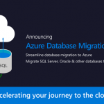 Azure Database Migration Service announcement at //build