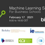 Virtual Machine Learning School For Business Schools: Registrations are Open!