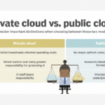 Private vs. public cloud security: Benefits and drawbacks