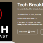 Featured on Tech Breakfast Podcast 209 – The News | Podcast 210 – EV's & Law Enforcement